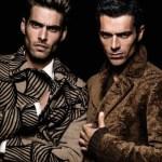 Jon Kortajarena & Luca Argentero by Michael Avedon
