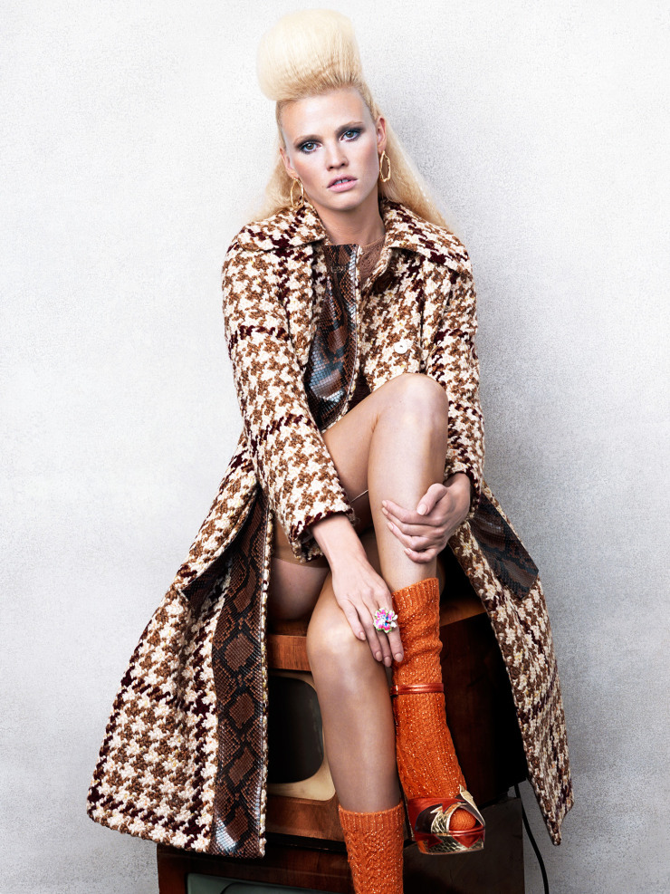 Lara Stone by Bjorn Iooss (5)