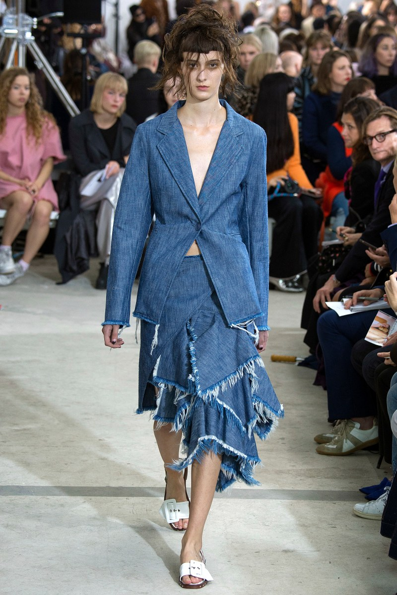 Marques'Almeida Ready To Wear SS 2016 LFW (32)