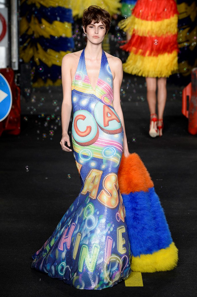 Moschino Ready To Wear SS 2016 MFW (53)