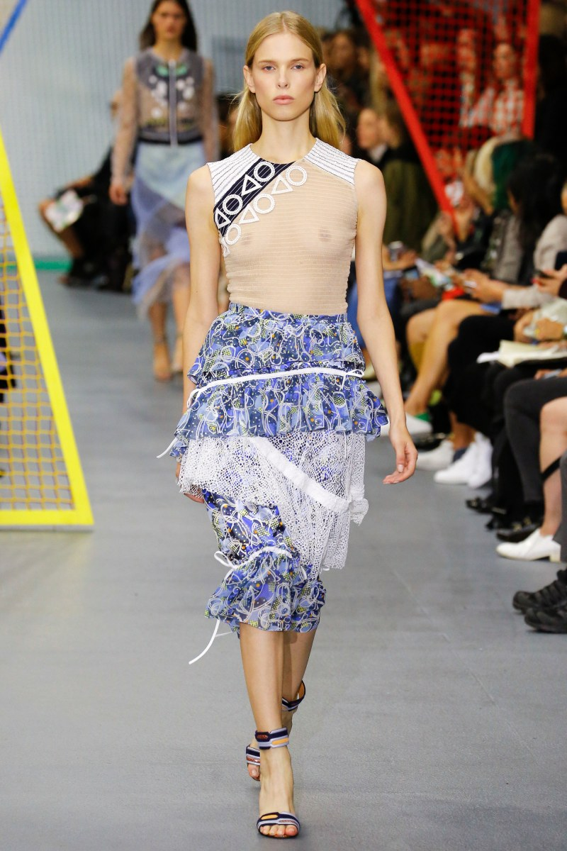 Peter Pilotto Ready To Wear SS 2016 LFW (34)