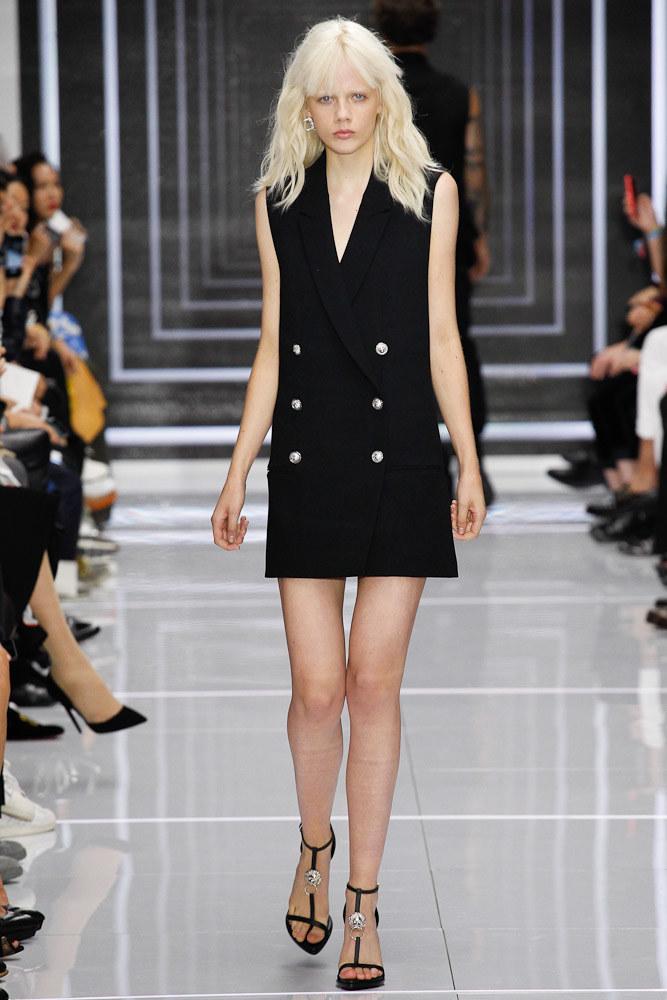 Versus Versace Ready To Wear SS 2016 LFW (10)