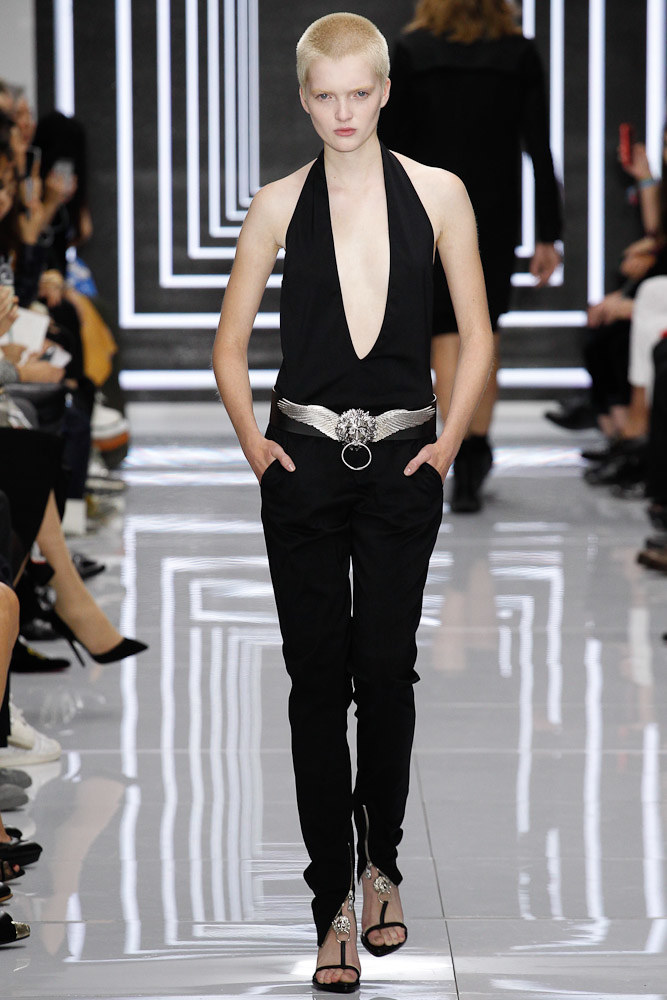 Versus Versace Ready To Wear SS 2016 LFW (11)