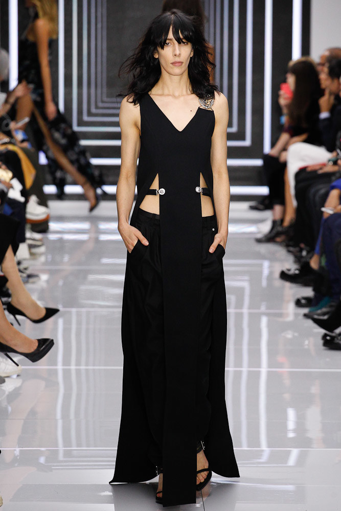 Versus Versace Ready To Wear SS 2016 LFW (57)