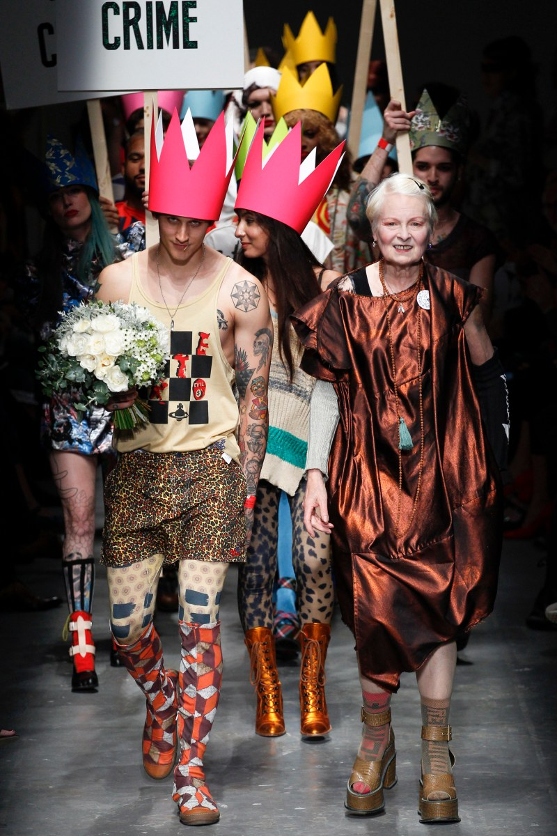 Vivienne Westwood Red Label Ready To Wear SS 2016 LFW (47)