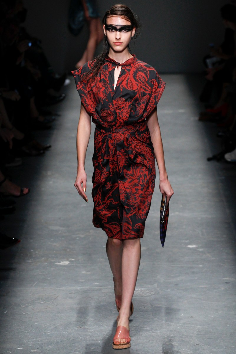 Vivienne Westwood Red Label Ready To Wear SS 2016 LFW (7)