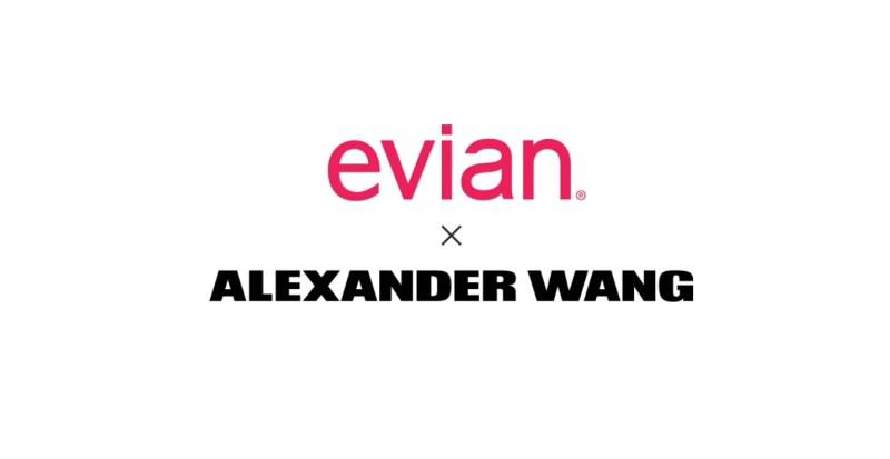 Alexander Wang x Evian Water