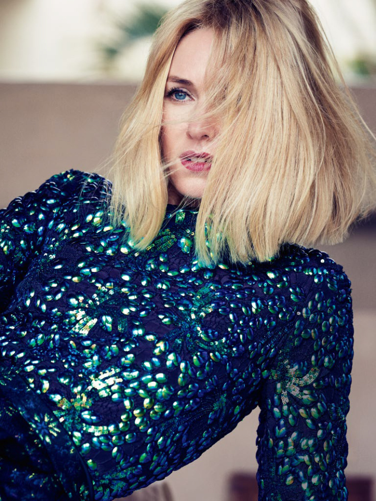 Naomi Watts by Nathaniel Goldberg