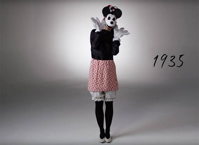 100 YEARS OF HALLOWEEN COSTUMES IN 3 MINUTES (2)