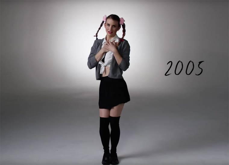 100 YEARS OF HALLOWEEN COSTUMES IN 3 MINUTES