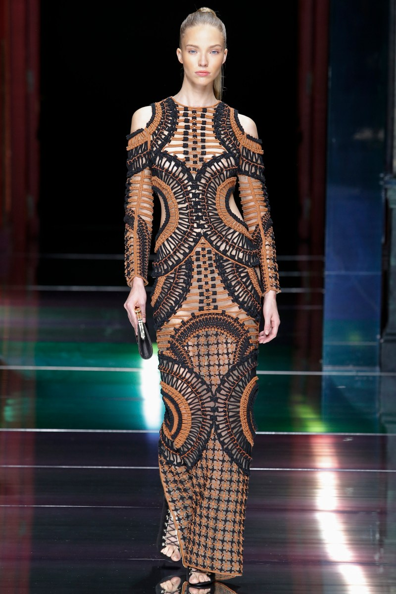 Balmain Ready To Wear SS 2016 PFW (18)