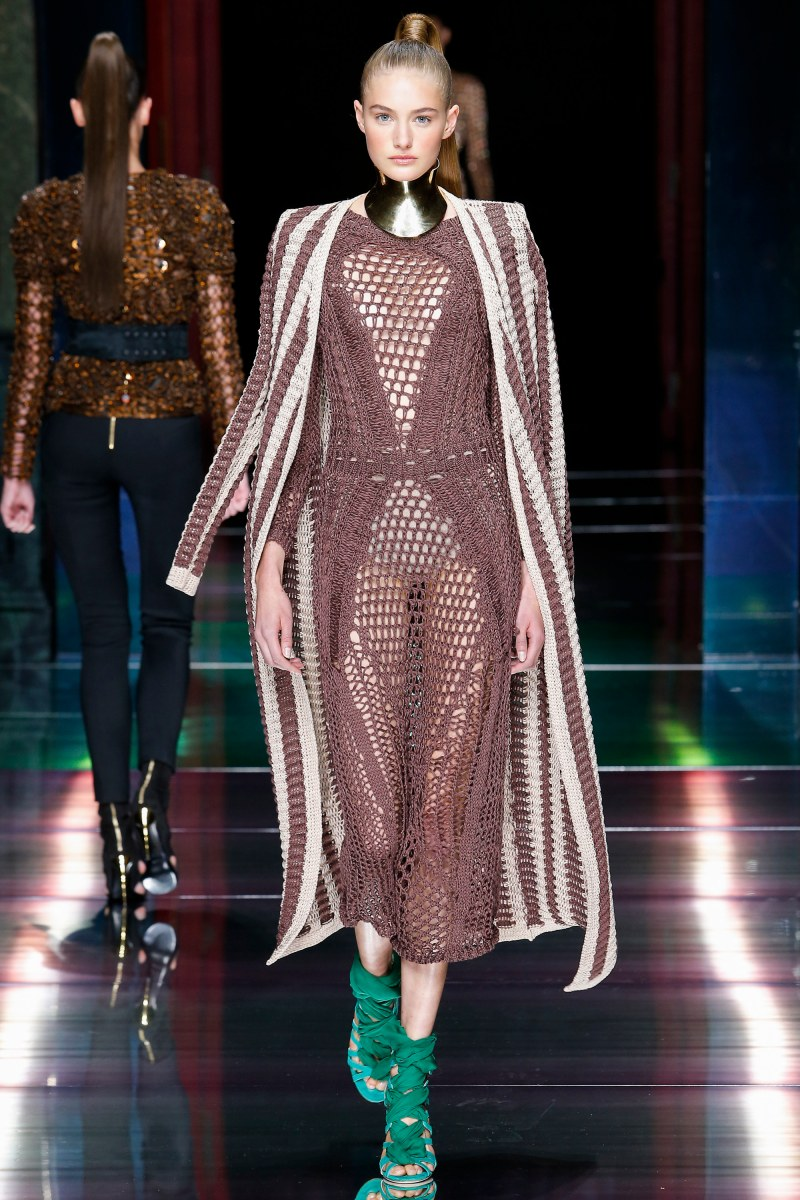 Balmain Ready To Wear SS 2016 PFW (23)