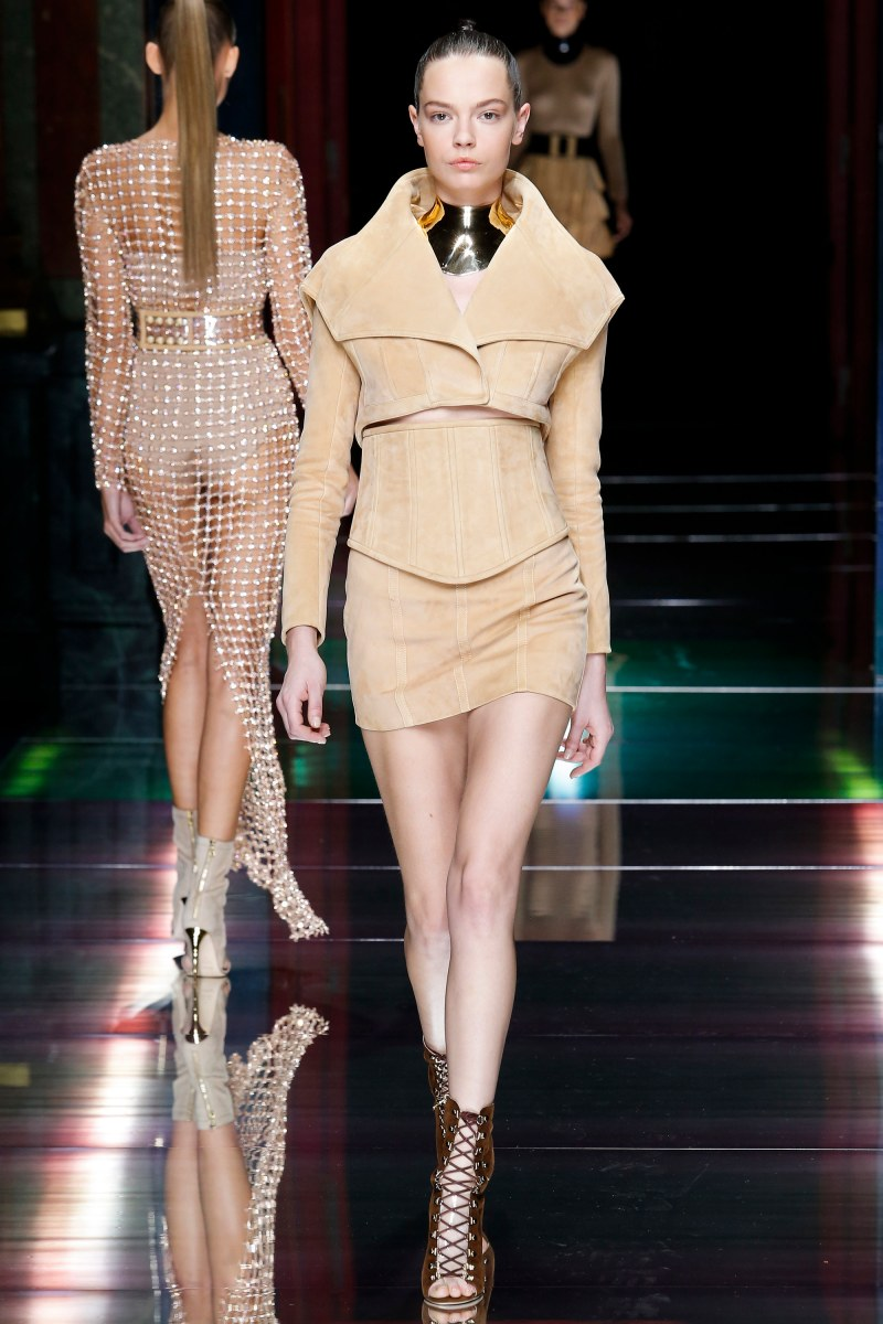 Balmain Ready To Wear SS 2016 PFW (30)
