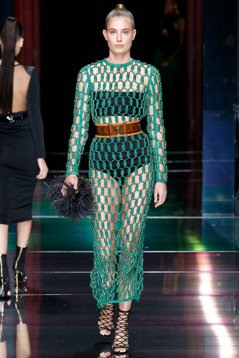 Balmain Ready To Wear SS 2016 PFW (48)