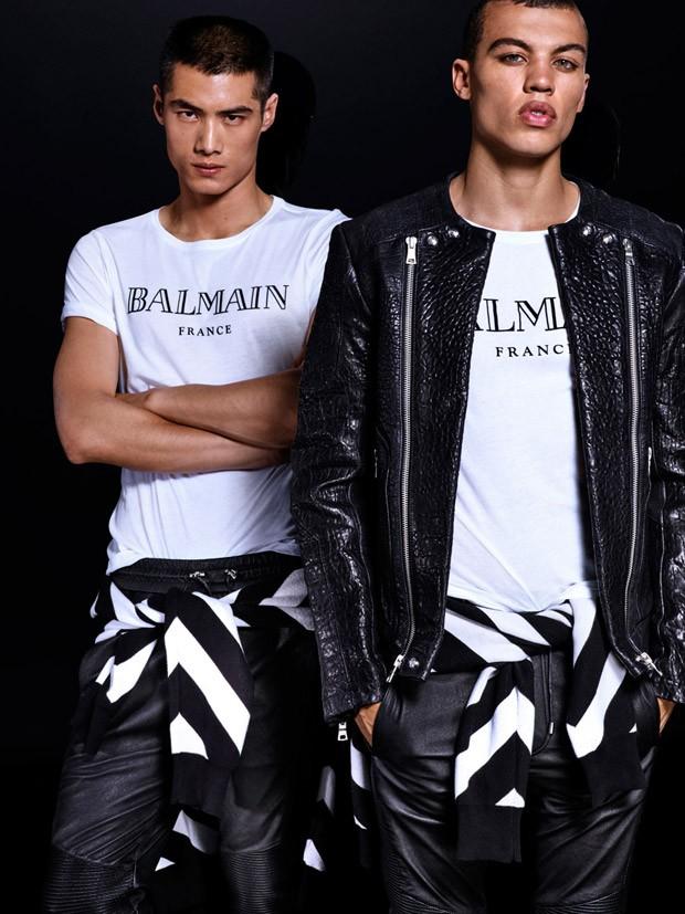 Balmain x H&M ft. Dudley O'Shaughnessy & Hao Yun Xiang (9)