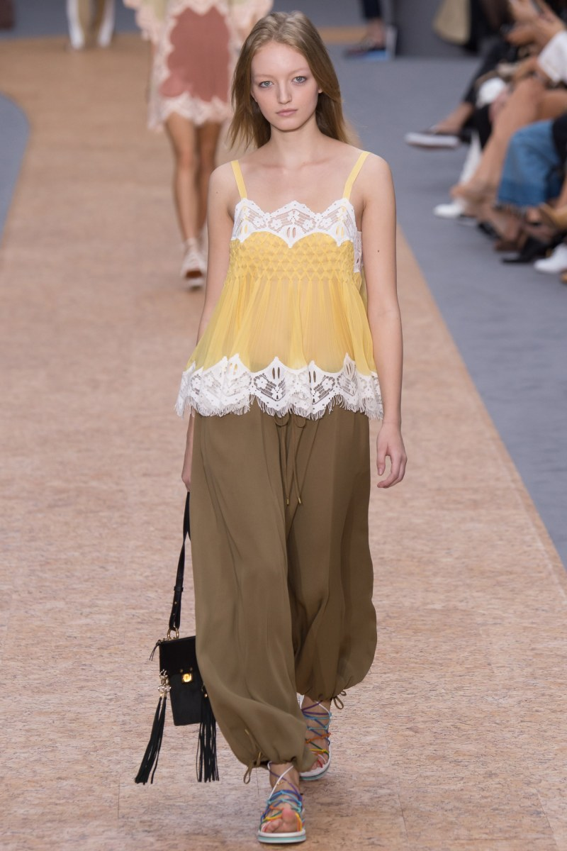 Chloé Ready To Wear SS 2016 PFW (14)