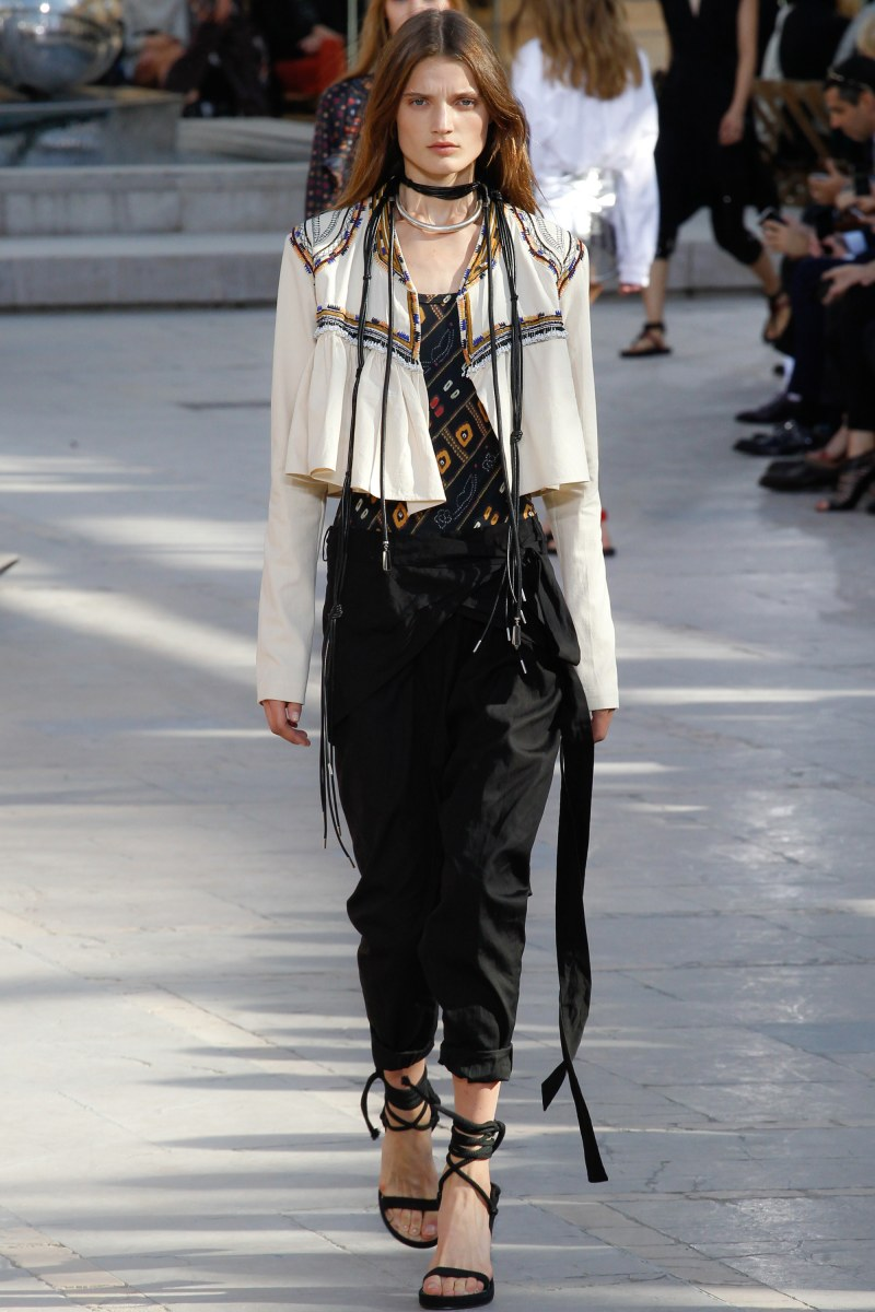 Isabel Marant Ready To Wear SS 2016 PFW (27)