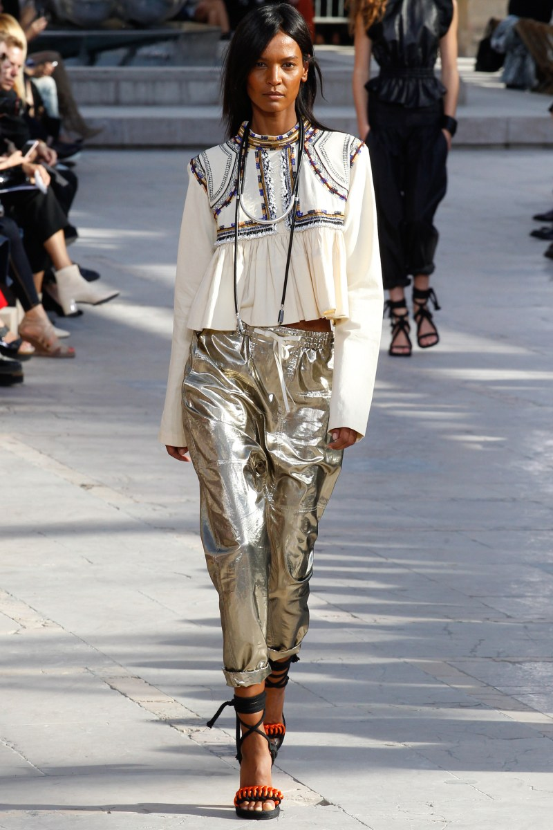Isabel Marant Ready To Wear SS 2016 PFW (36)