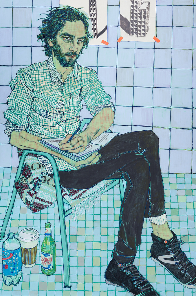 Portraits by artist Hope Gangloff (2)