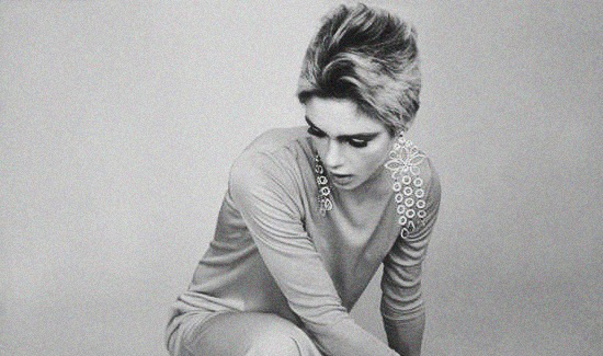 Throwback Editorial Edie Sedgwick by Fred Eberstadt, 1965 (3)