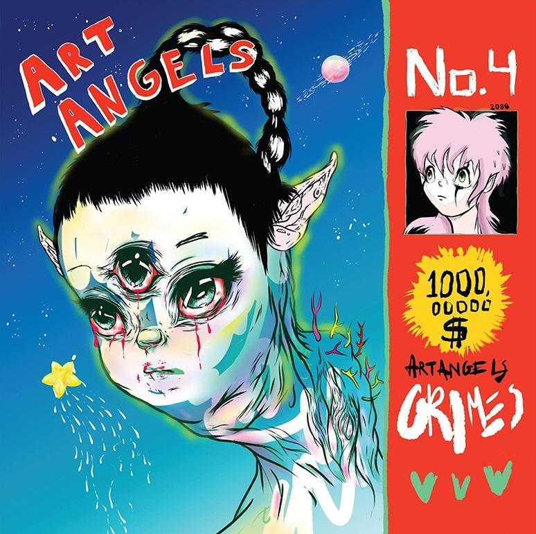 Grimes Art Angels Album Art