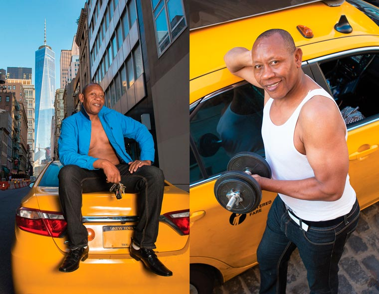 Real NYC Taxi Drivers Get Sexy in a 2016 Calender (5)