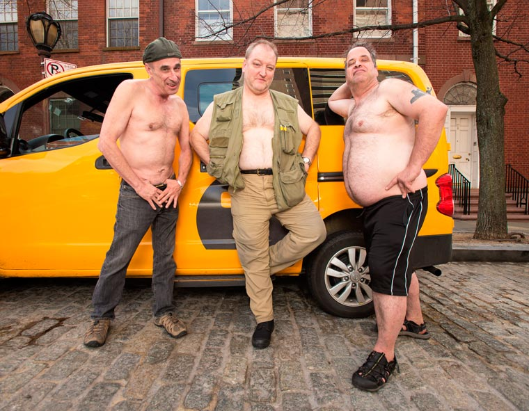Real NYC Taxi Drivers Get Sexy in a 2016 Calender (6)