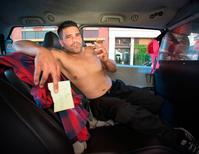 Real NYC Taxi Drivers Get Sexy in a 2016 Calender (8)