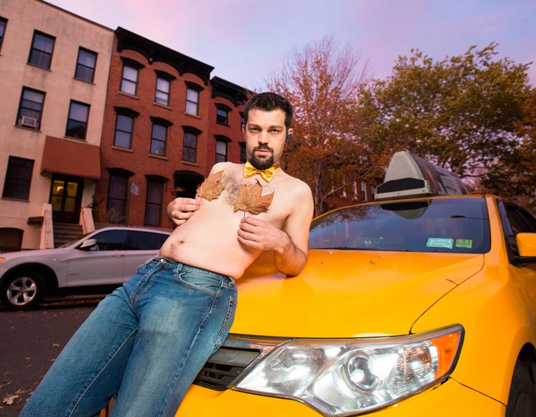 Real NYC Taxi Drivers Get Sexy in a 2016 Calender (9)