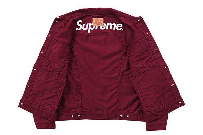 Supreme X Levi's FW 2015 Collection (5)