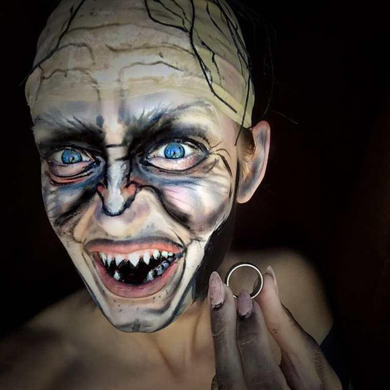 Extreme Pop Culture Makeup (6)