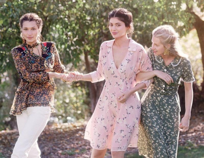 Kylie Jenner, Bella Hadid, & Lottie Moss by Gordon von Steiner (2)