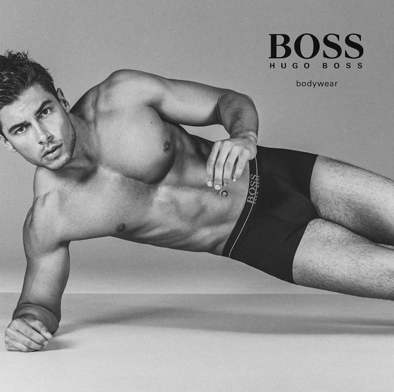 Top Male Models Unite for BOSS by Hugo Boss Underwear Campaign (1)
