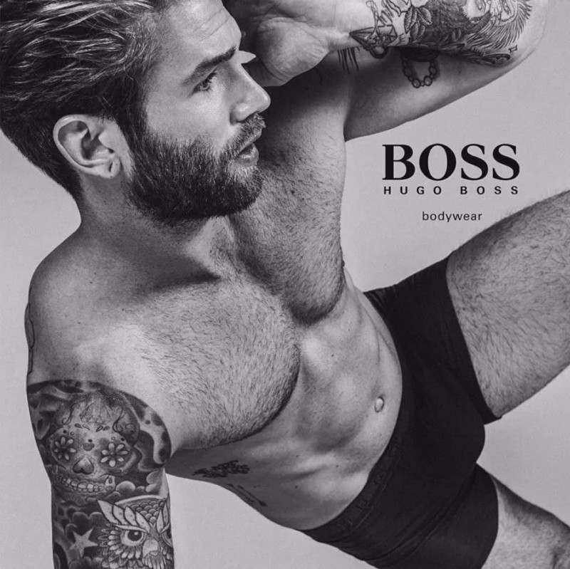 Top Male Models Unite for BOSS by Hugo Boss Underwear Campaign (2)