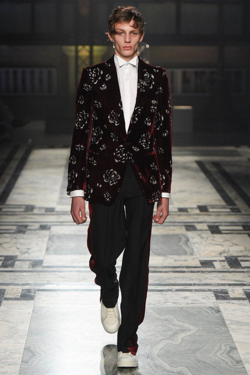 Alexander McQueen Menswear FW 2016 London (30)
