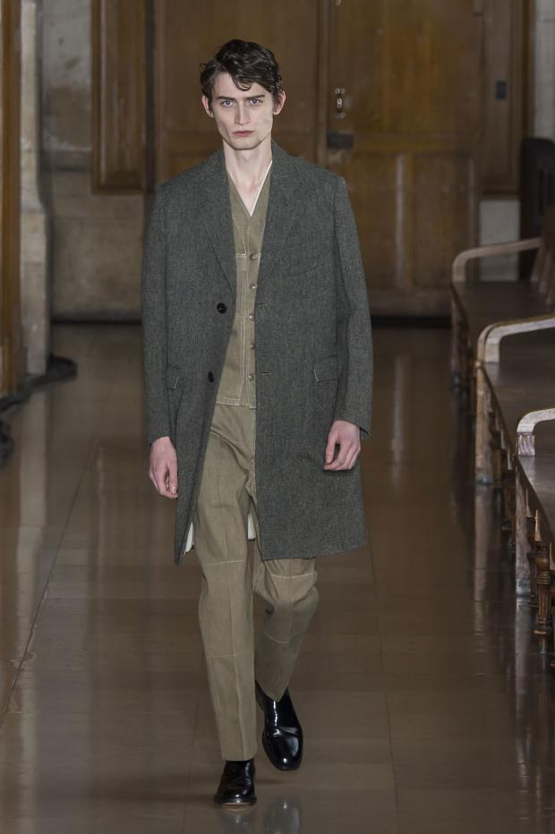 Christophe Lemaire Menswear FW 2016 Paris (22)