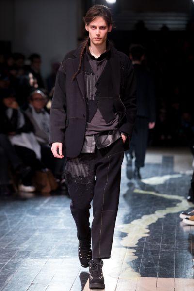 Yohji Yamamoto Menswear FW 2016 Paris (27)