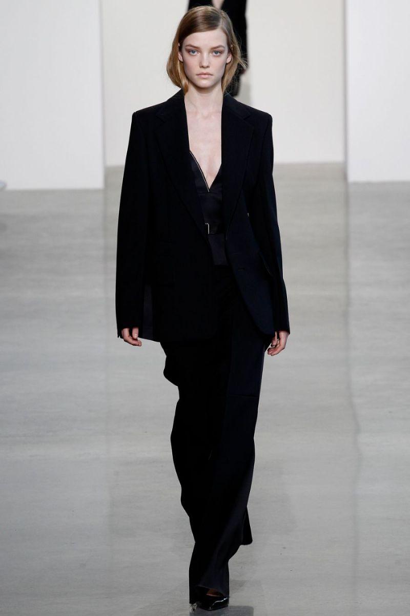 Calvin Klein Collection Ready to Wear FW 2016 NYFW (1)