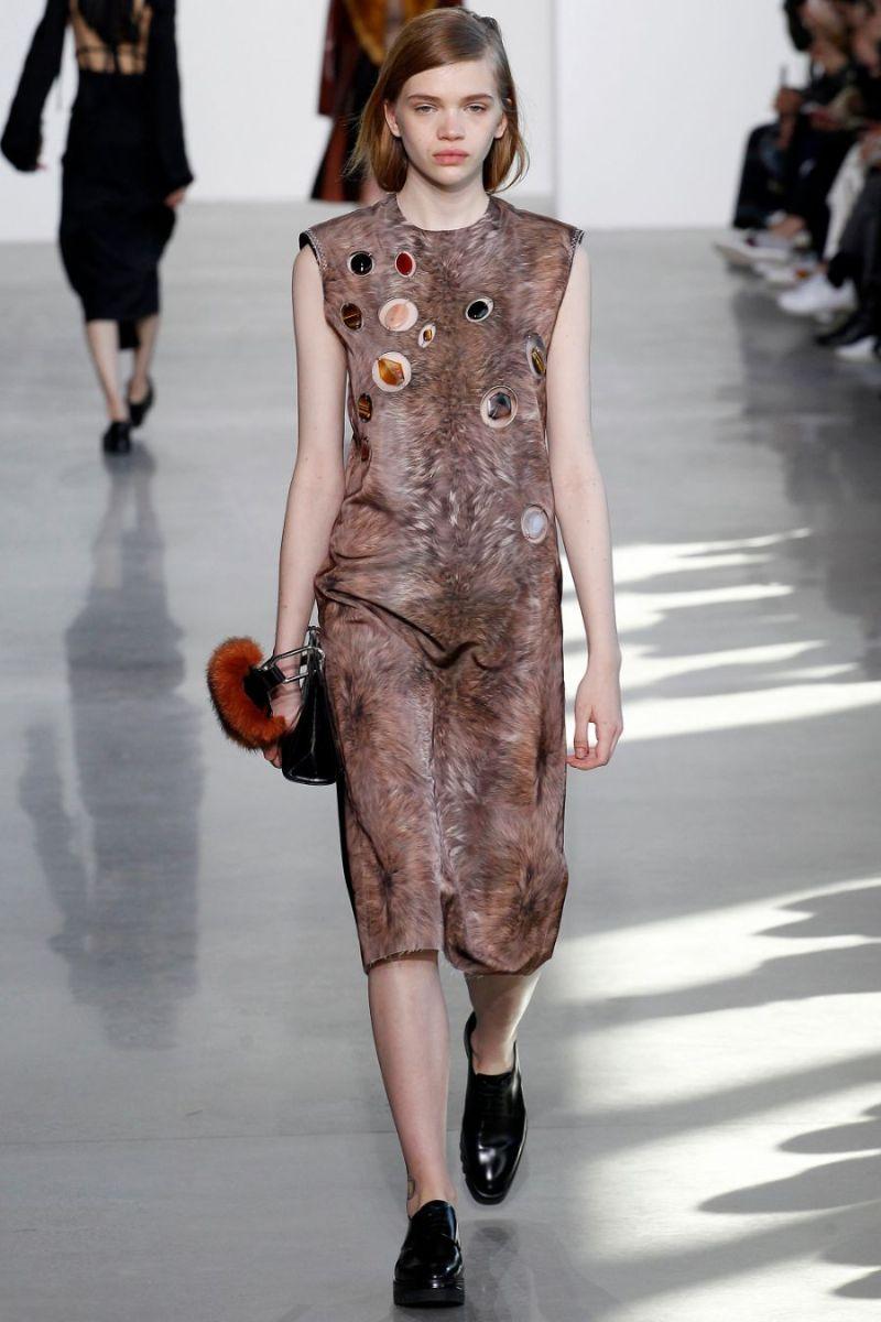 Calvin Klein Collection Ready to Wear FW 2016 NYFW (27)