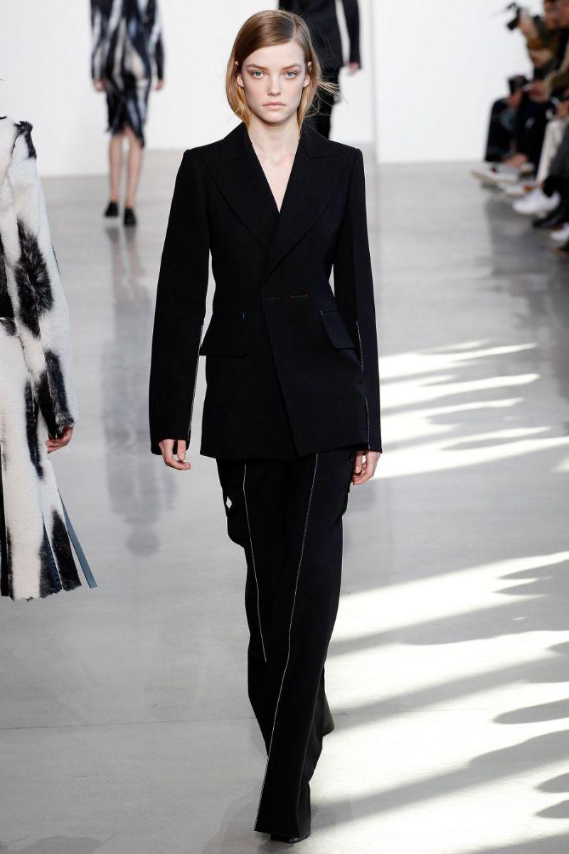 Calvin Klein Collection Ready to Wear FW 2016 NYFW (39)