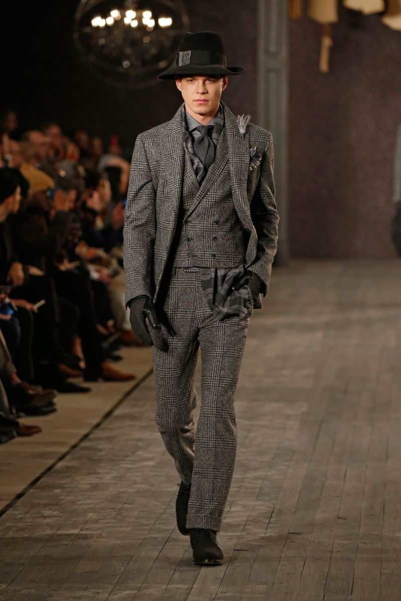 Joseph Abboud Menswear FW 2016 New York (4)
