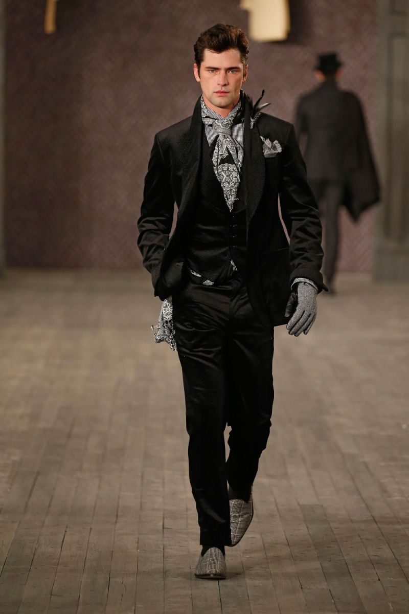 Joseph Abboud Menswear FW 2016 New York (59)