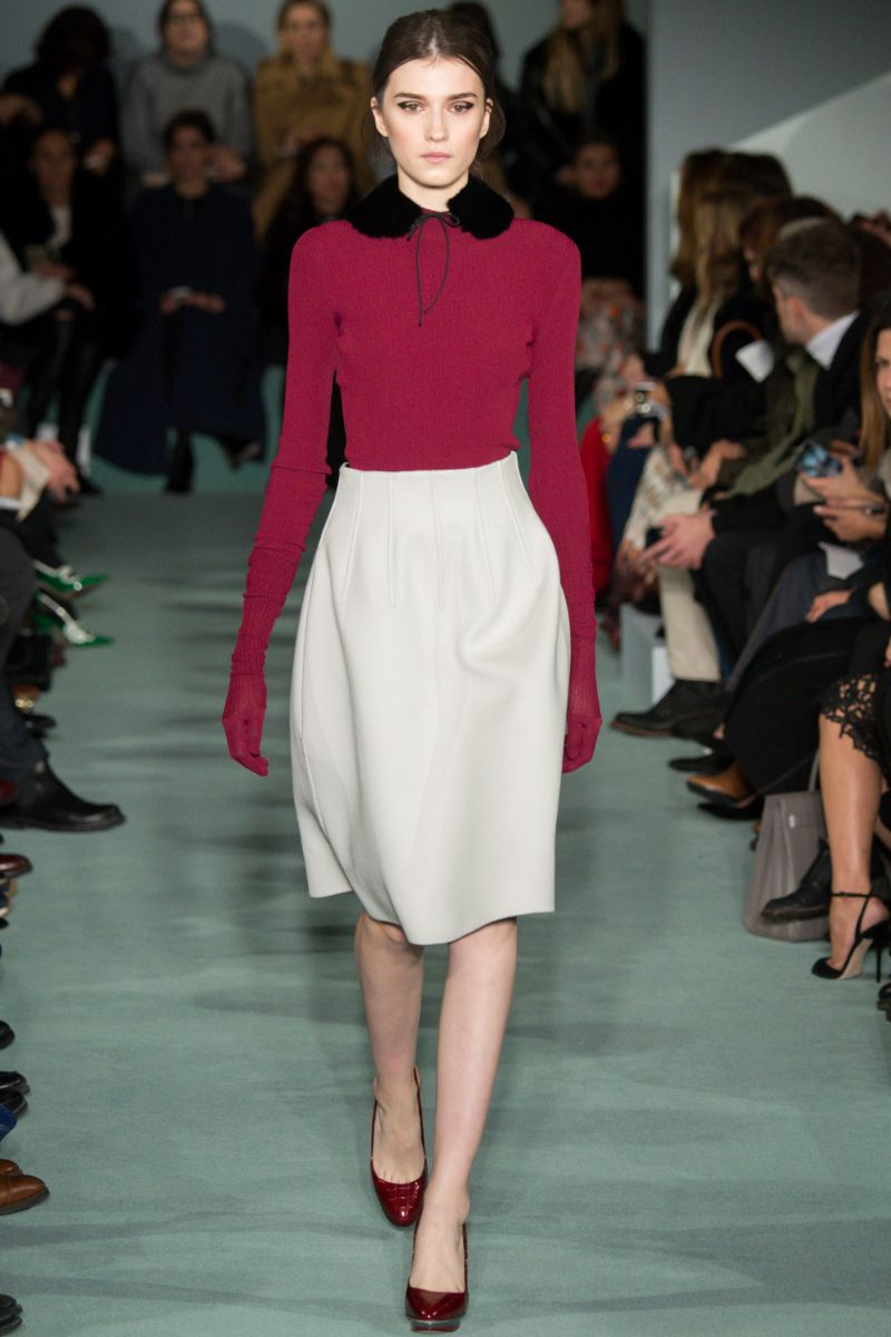 Oscar de la Renta Ready to Wear FW 2016 NYFW (2)