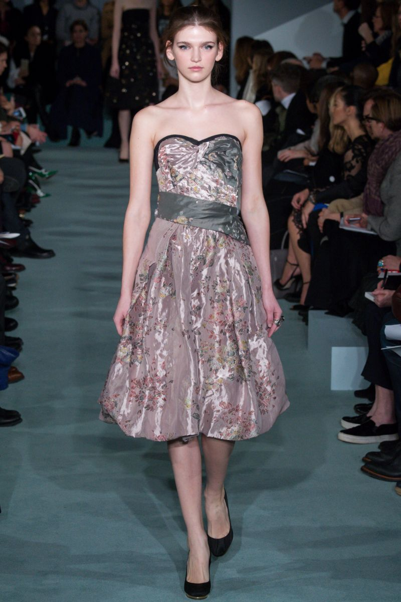 Oscar de la Renta Ready to Wear FW 2016 NYFW (37)