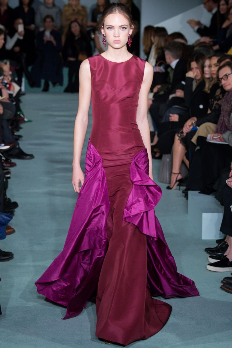 Oscar de la Renta Ready to Wear FW 2016 NYFW (51)