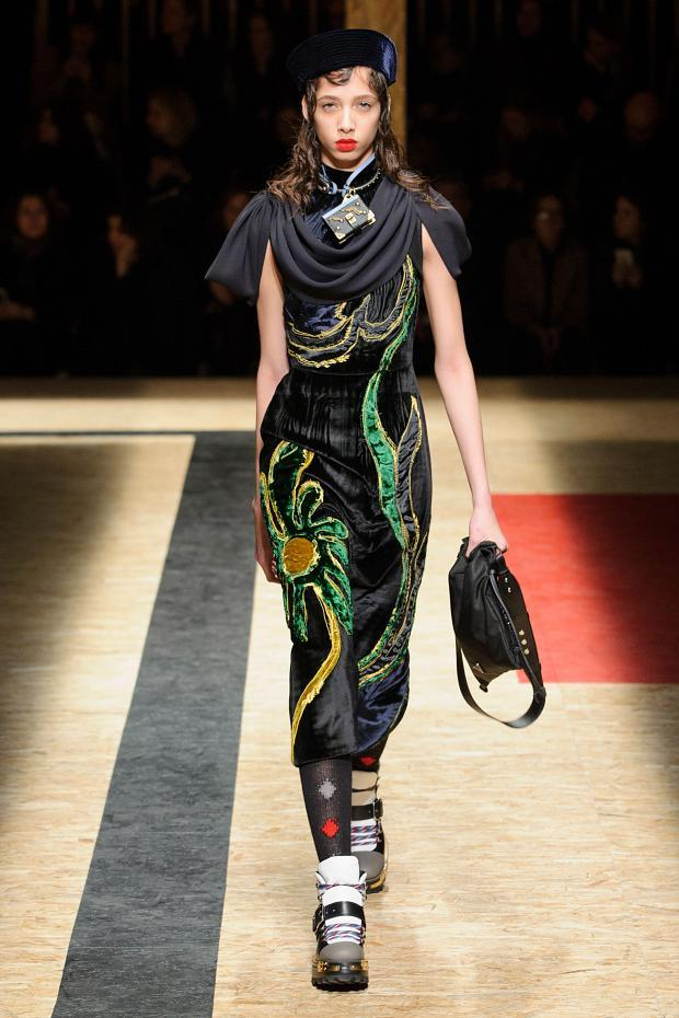 Prada Autumn Ready to Wear FW 2016 MFW (15)