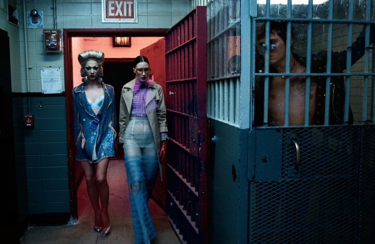 Anna Cleveland, Charlie Himmelstein & Violet Chachki by Steven Klein (9)