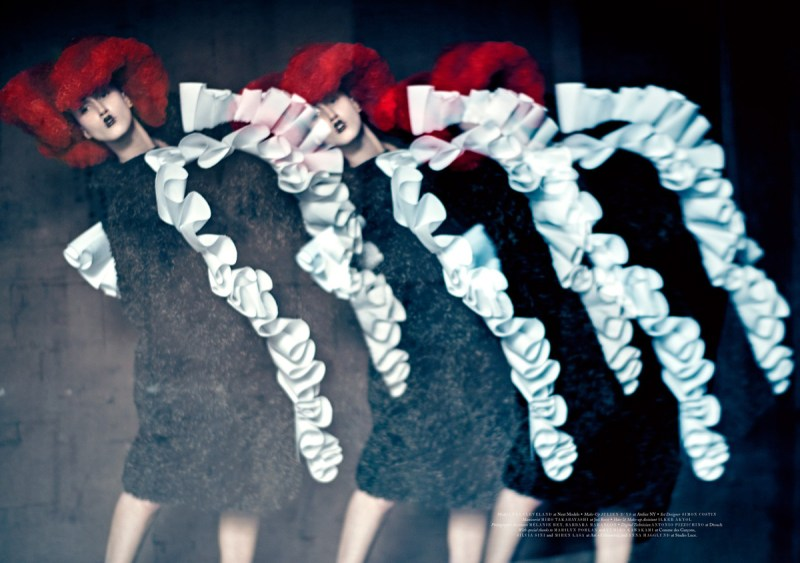 Anna Cleveland by Paolo Roversi (6)
