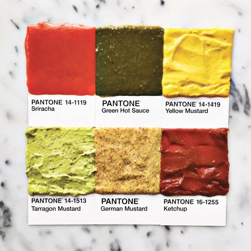 Pantone Foods by Lucy Litman (1)