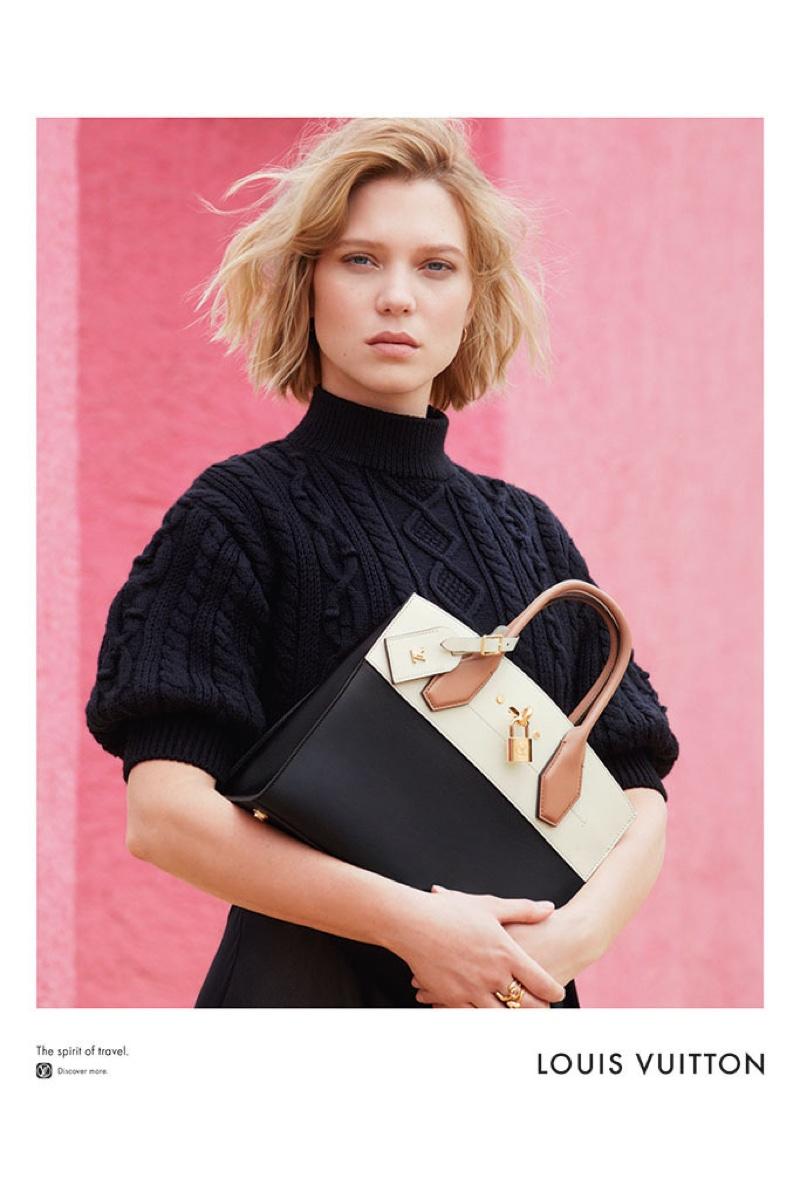 Lea Seydoux for Louis Vuitton 2016 Campaign (4)